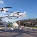航空タクシー用ポートVolo-Port建設へ SkyportsとVolocopterが2019年末までに
