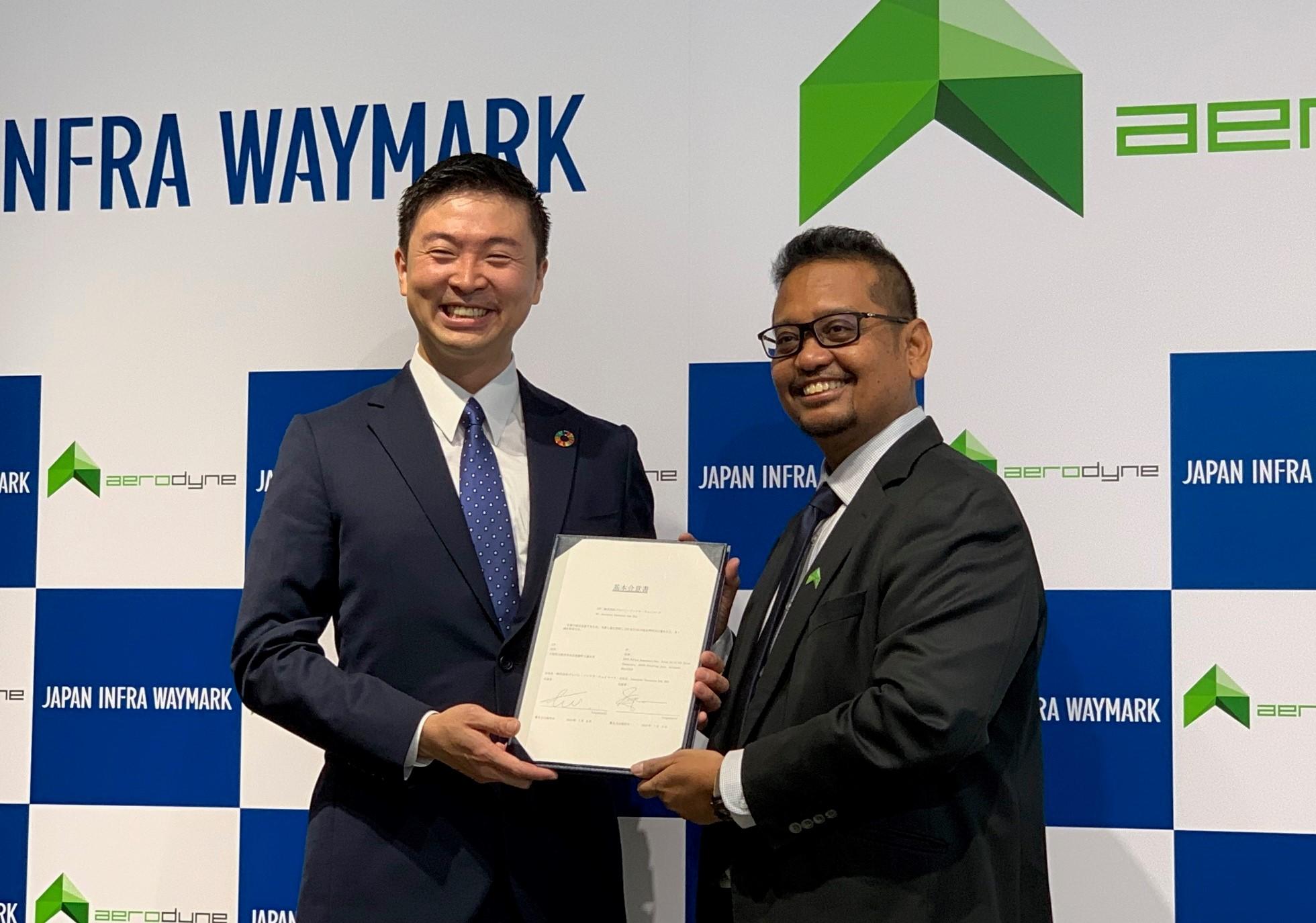 マレーシアのAerodyne とNTT西系のJIWが業務提携 インフラ点検で「最強タッグ」