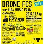 10月5日に飛騨市で「第3回神岡ドローンフェス」開催 徳島・那賀町も参加