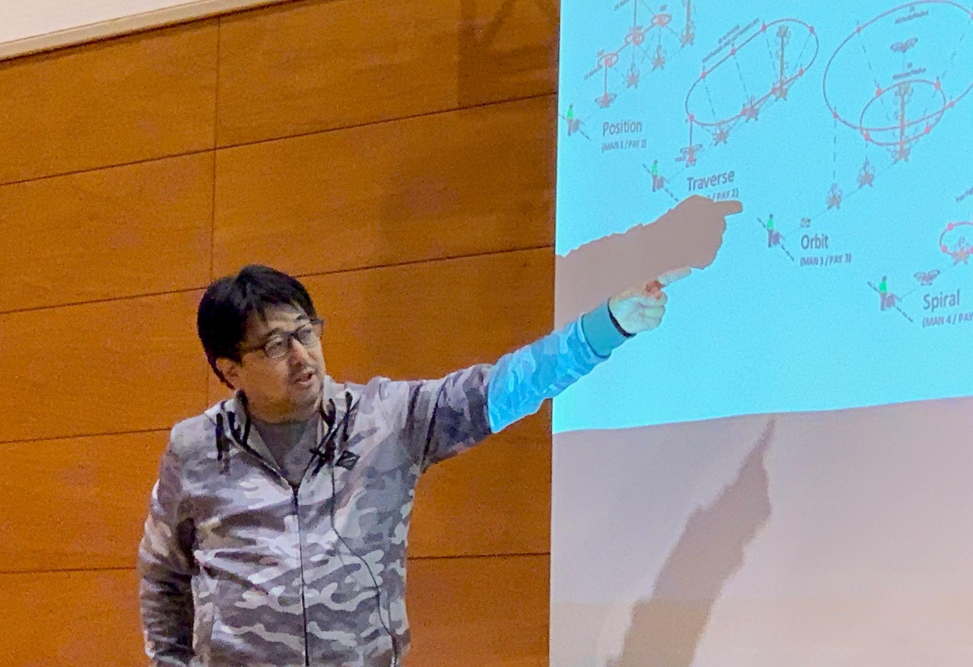 【慶大×田村市】県立船引高校でドローン特別講座開催 南氏、次回以降の米標準NISTの訓練導入を表明
