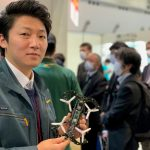 Liberaware小型点検用ドローンIBISの自動飛行デモを初公開 第4回ロボデックス