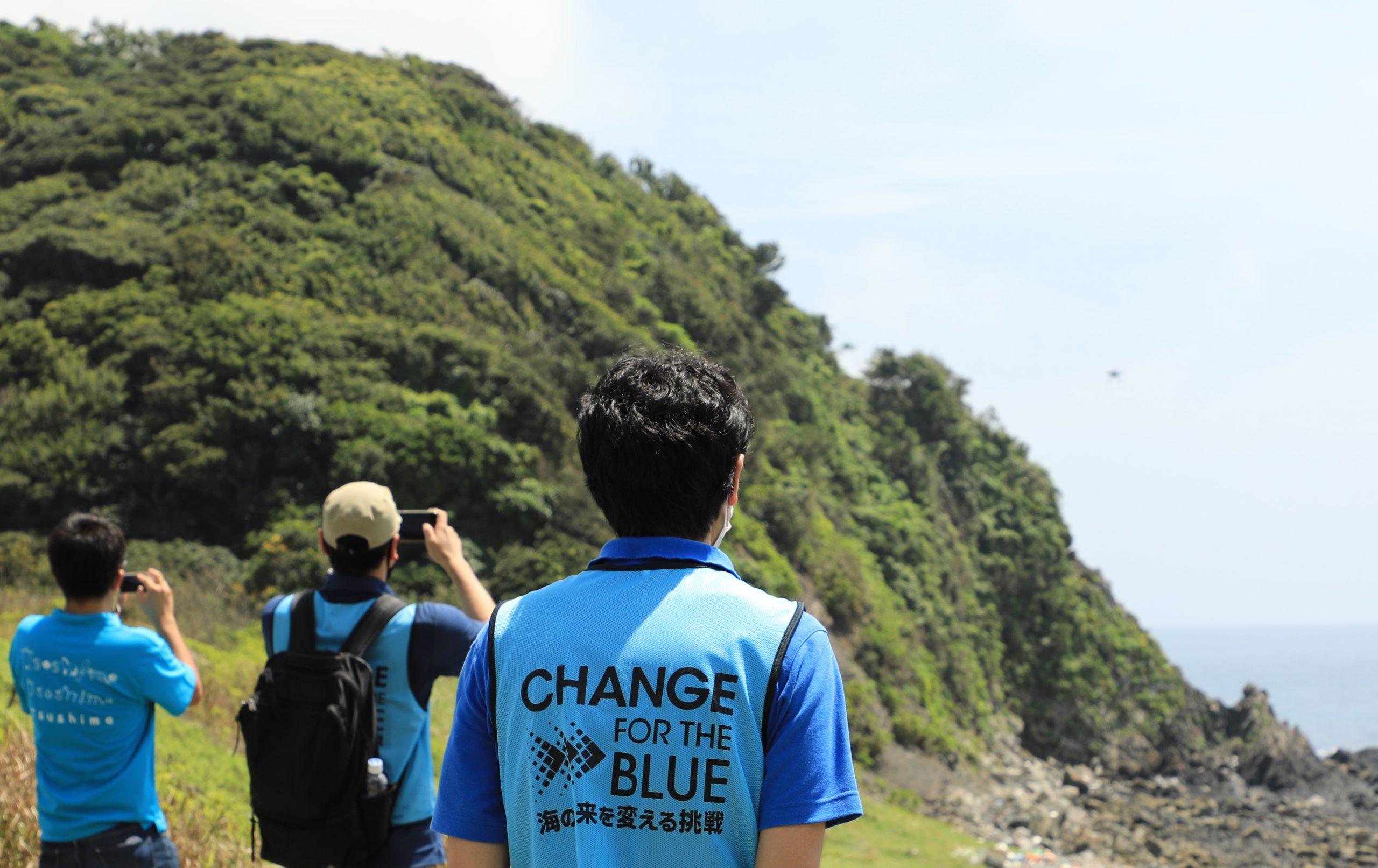 長﨑県対馬市で海岸漂着ごみ検知システムの運用デモ DRONE FUNDが参加