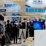 【Japan Drone 2020】会場準備着々 鈴木理事長「交流深めて」