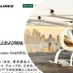【Japan Drone 2020】JAL、MS&AD系2社がボロコプター日本導入を目的に提携