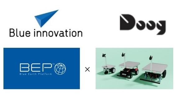 ブルーイノベーションとドーグが業務提携、法人向けソリューションを共同開発