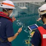 福島県が消防職員向けに水中ドローン講習開催 水中ドローン普及の先駆け、スペースワンが指導